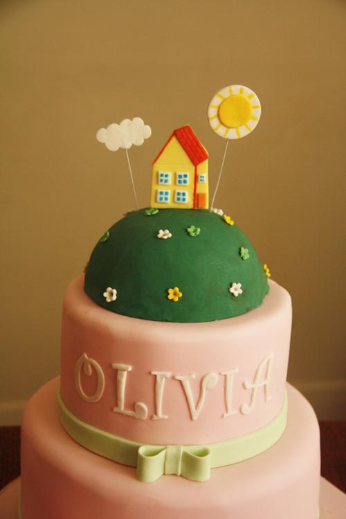 верхняя часть торта