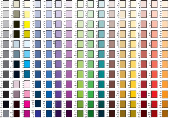 палитра подбора цвета