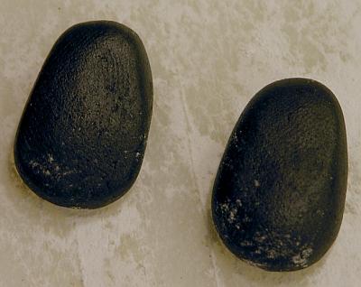 ботинки из черной мастики