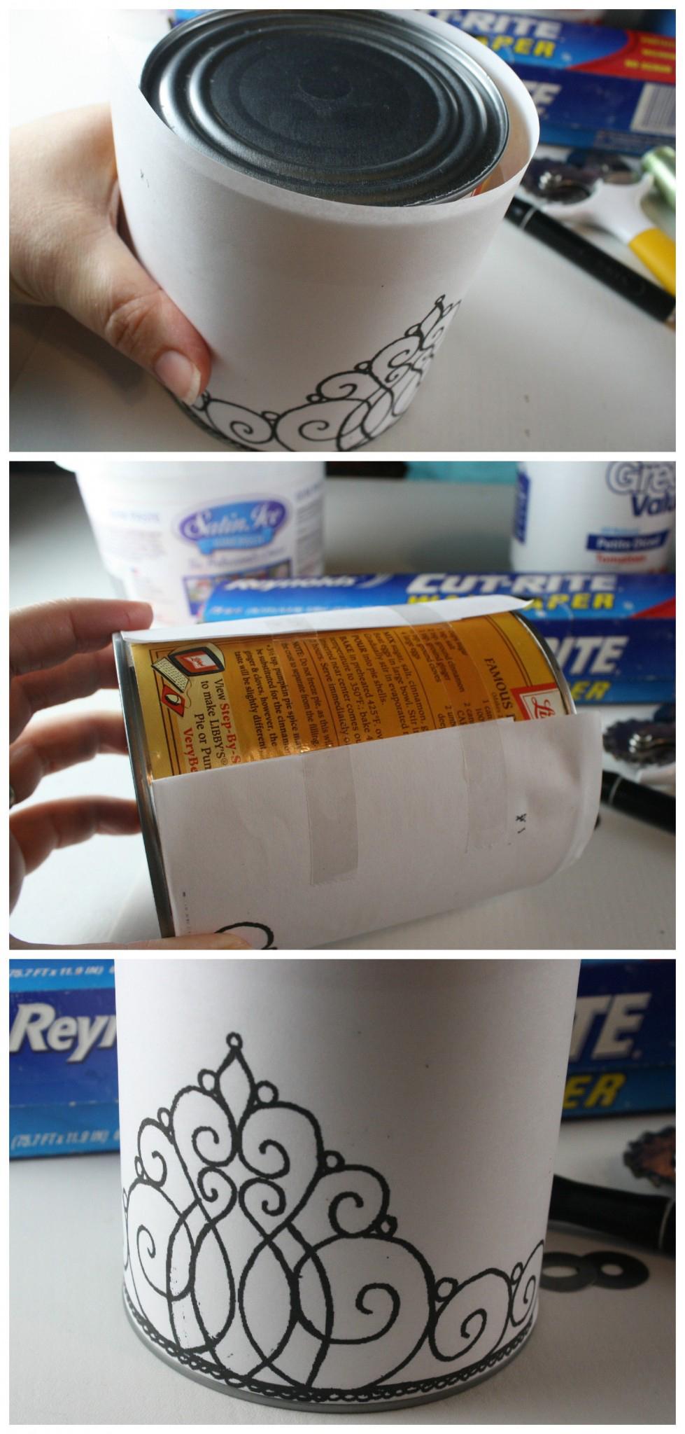 Как сделать ведерко из мастики